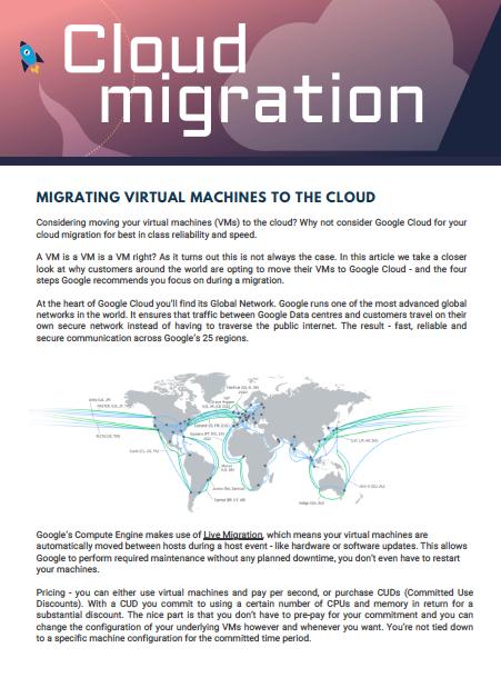 Articles - cloud migration